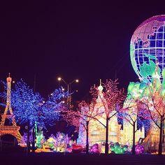 Global Winter Wonderland in Atlanta, #Georgia.