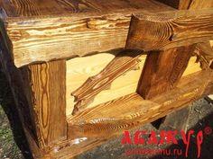 Колодец под старину декоративный на дачу (10) - Наши Работы - Мебель под старину разная - Абажур, мебель под старину