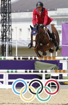 Richard Fellers of the U. rides Flexible during the equestrian individual jumping second qualifier Nbc Olympics, 2012 Summer Olympics, Greenwich Park, Going For Gold, Sport Of Kings, Hunter Jumper, Show Jumping, Team Usa, Horse Riding