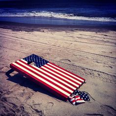 #America at the #beach, all this is missing is a cool tank or tee from UGP