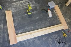 DIY Farmhouse Crib - Free Tutorial and Plans - Shanty 2 Chic Woodworking Kit For Kids, Woodworking Table Plans, Woodworking Joints, Woodworking Classes, Popular Woodworking, Fine Woodworking, Baby Crib Diy, Baby Cribs, Baby Beds