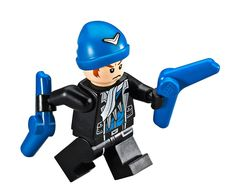 LEGO DC Super Heroes Captain Boomerang Minifigure 76055 Suicide Squad: Complete your Suicide squad with this authentic LEGO Captain Boomerang Lego Dc, Lego Batman 2, Bane Batman, Lego Marvel, Captain Boomerang, Killer Croc, Lego System, Lego Super Heroes, Lego Creations