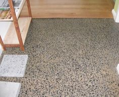 LINUS Wood and Cotto Oil Polished concrete look Polished Concrete, New Home Designs, New Homes, House Design, Oil, Interior, Home Decor, New House Designs, Decoration Home