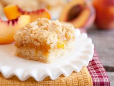 Peach Recipes for National Peach Month