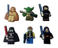Lego Movie Shoe Charms 6 Pcs Set 9 *** For more information, visit image link.