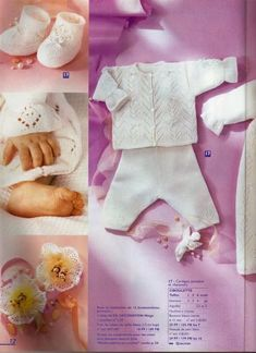 Albums archivés Baby Patterns, Crochet Patterns, Baby Layette, Clothing Patterns, Baby Knitting, Knit Crochet, Albums, Kids, Clothes