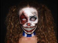 Evil Clown Makeup | Maquillaje Payaso Diabólico - YouTube