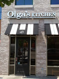 Olga's Kitchen, you have not lived until you've eaten here!!  Only in Michigan I believe yummy