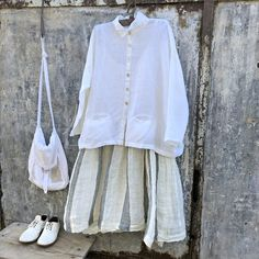 High Tea Linen Slip and Pieta Top MegbyDesign Easy Wear, High Tea, White Shorts, Cute Outfits, Ruffle Blouse, Couture, Trending Outfits, My Style, Sale 50