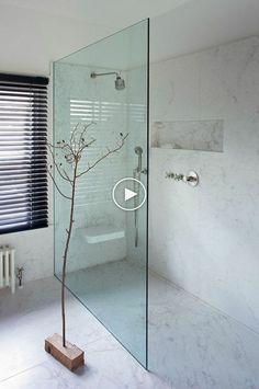 Great, this stylish modern Scandinavian bathroom inspiration with an inlo … – Marble Bathroom Dreams Minimalist Showers, Minimalist Bathroom, Bad Inspiration, Bathroom Inspiration, Bathroom Ideas, Bathroom Showers, Shower Ideas, Bathroom Organization, Bathroom Designs