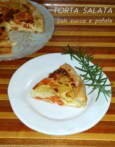 Torta salata con zucca e patate, ricetta, cucina preDiletta