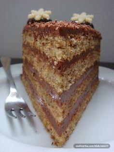Torte Recepti, Kolaci I Torte, Chocolate Bowls, Chocolate Desserts, Baking Recipes, Cookie Recipes, Oreo, Nutella Cake, Torte Cake