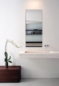 marble floating sink - beautiful sinks