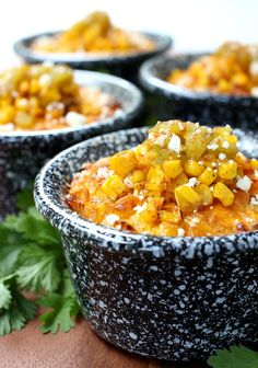 Pudding is loaded with roasted corn, green chiles and tons of cheddar ...