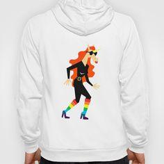 Rainbow Boots Unicorn Hoody