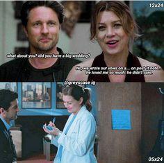 Greys Anatomy Episodes, Greys Anatomy Funny, Grays Anatomy Tv, Grey Anatomy Quotes, Anatomy Humor, Meredith And Derek, Grey Quotes, Dark And Twisty, Youre My Person