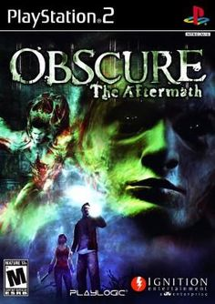 OBSCURE: THE AFTERMATH – PLAYSTATION 2 $12.95 --> https://pyroflame.com/collections/rare-games/products/obscure-the-aftermath-playstation-2 #ecommerce #gaming #retrogaming #gamer #retro #gamersunite #geek