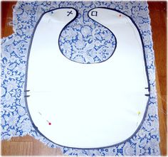 While They Sleep...: The EASIEST EVER Bib: A Tutorial
