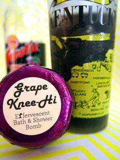 Grape Knee Hi grape soda pop scented by fbombswearystuff on Etsy