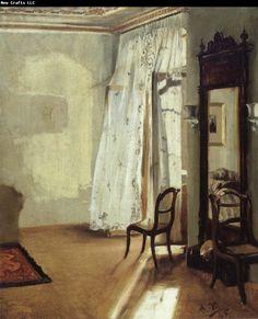 Adolph von Menzel The Balcony Room