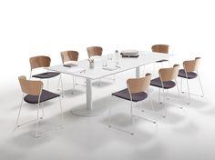 Table à manger rectangulaire FLAT   Table à manger by Inclass Mobles