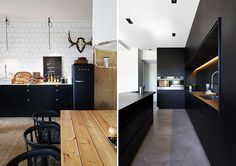 7 WAYS TO USE BLACK IN YOUR HOME KATE DWELL IN STYLE_BLACK KITCHEN