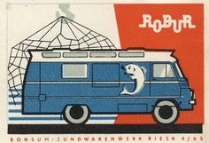 German (GDR) #matchbox label Order your logo #matches from GetMatches.com #Phillumeny