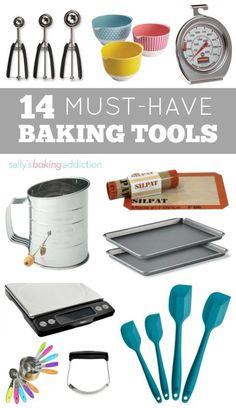 14 Kitchen Tools Every Baker Needs Sally S Baking Addiction
