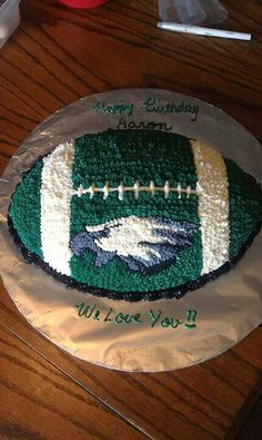 #Eagles birthday cake, perfect for your favorite fan.