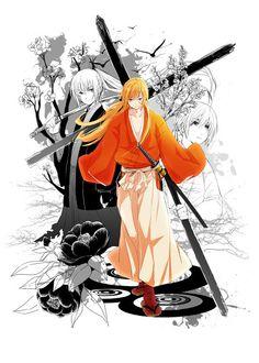 The wanderer journey (Rurouni Kenshin)