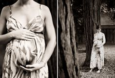These are gorgeous.  I see tons of maternity shoots, and i love the serenity of this.  Also, her baby bump is beautifully round.