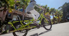 Electric Cargo Bike mid-drive motor | Yuba Cargo Bikes