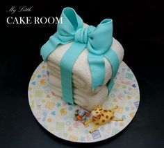 Stacked Towels Cake Tutorial