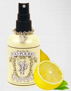 My Mom is crazy over this Poopourri Spray. However, I'm DIY and went to work making my own and it truly works. This #2 mixture is a great guide also. Once you make it, you won't go without. I always have essential oils on hand.