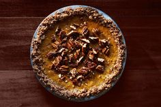 Pumpkin Pie with Oat-Pecan Crust  -wish someone would make this for me.