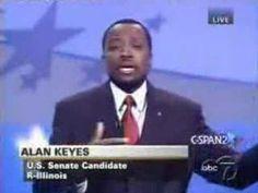 Remember this telling debate? Obama Vs. Keyes: Christianity