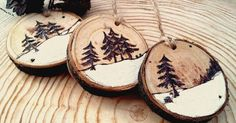 Christmas decorations Christmas toys Rustic Christmas Decor Modern Christmas Woode Christmas Decor Christmas set Set of Three Wooden Christmas decorations Christmas toys Rustic Christmas by HolgaArt (Diy Ornaments Paint) Items similar to Wooden original C Homemade Christmas Decorations, Wooden Christmas Ornaments, Christmas Signs, Christmas Diy, Black Christmas, Wood Ornaments, Natural Christmas Tree, Father Christmas, Christmas Wreaths