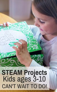 STEAM Projects for kids with Green Kid Crafts, a craft subscription box for… Science Crafts, Science Activities For Kids, Science Kits, Kid Crafts, Preschool Art, Stem Activities, Subscriptions For Kids, Subscription Boxes For Kids, Kits For Kids