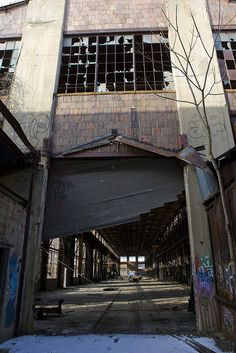 Abandoned boiler works, stroudsburg, pa.  Nowhere in the world more fun to spelunk!