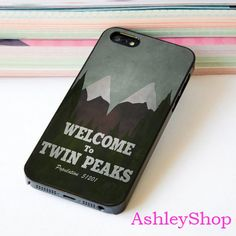 welcome to twin peaks Custom Case For iPhone 4/4s/5s/5c/6/6+/S3/S4/S5/S6 - Default iPhone 5/5s Case