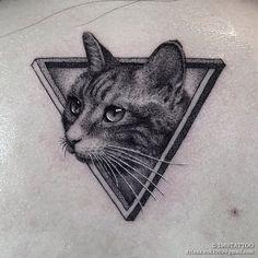 壹玖陆玖 Instagram: @1969tattoo Dope Tattoos, Dream Tattoos, Black Tattoos, Body Art Tattoos, Cat Tattoos, Meow Tattoo, Tattoo You, Respect Tattoo, Tattoo Project