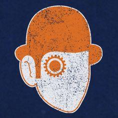 Clockwork Orange t-shirt design available in Mens, Ladies and Kids sizes