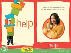 Help in Sign Language Learn how to sign help in ASL – it will save a lot of frustration! Bring one hand up about chest height, palm flat and facing up. With the other hand, extend the thumbRead Sign Language Dictionary, Sign Language Phrases, Learn Sign Language, Baby Signing Time, Libra, Sign Language For Toddlers, Learn To Sign, Toddler Teacher, Asl Signs