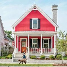 Best Planned Community according to Southern Living: Beaufort, SC, recently reclaimed and transformed by a visionary team of architects, builders, and developers | SouthernLiving.com | thisoldhouse.com