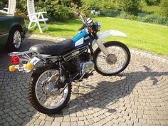 Yamaha 125, Sport Motorcycles, Dual Sport, Great Memories, Scrambler, Motorbikes, Trail, Meet, Racing