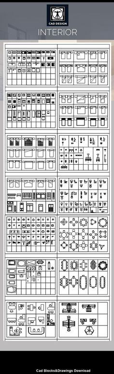 All Interior Design Blocks 5 – CAD Design | Free CAD Blocks,Drawings,Details