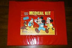 1978 Disney Mickey Mouse Medical Kit by Carolina Enterprises