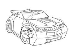Transformers Para Colorear Bumblebee Rescue Bots Prime 5