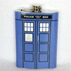 Doctor Who TARDIS flask!