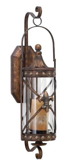 Fleur de Lis,sconce,LED candle holders,safe,votive,pillar candle holders,hurricane lamps